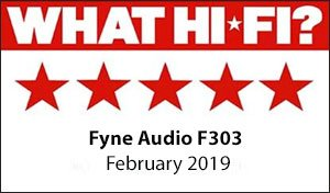 F303 5 star What Hifi review