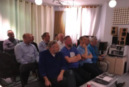 Denmark Audience at Fyne Audio event